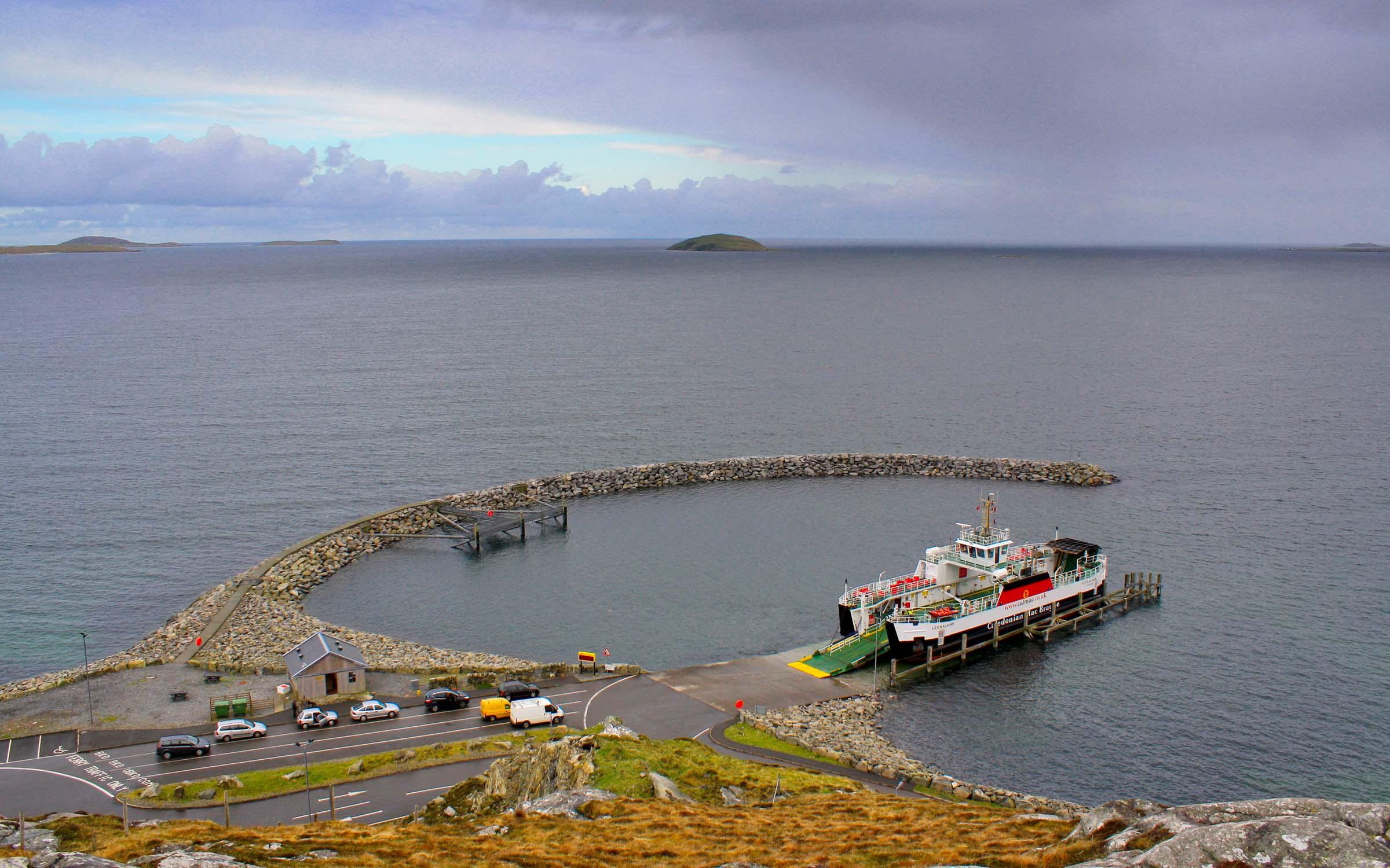 Loch Alainn at Eriskay (Ships of CalMac)