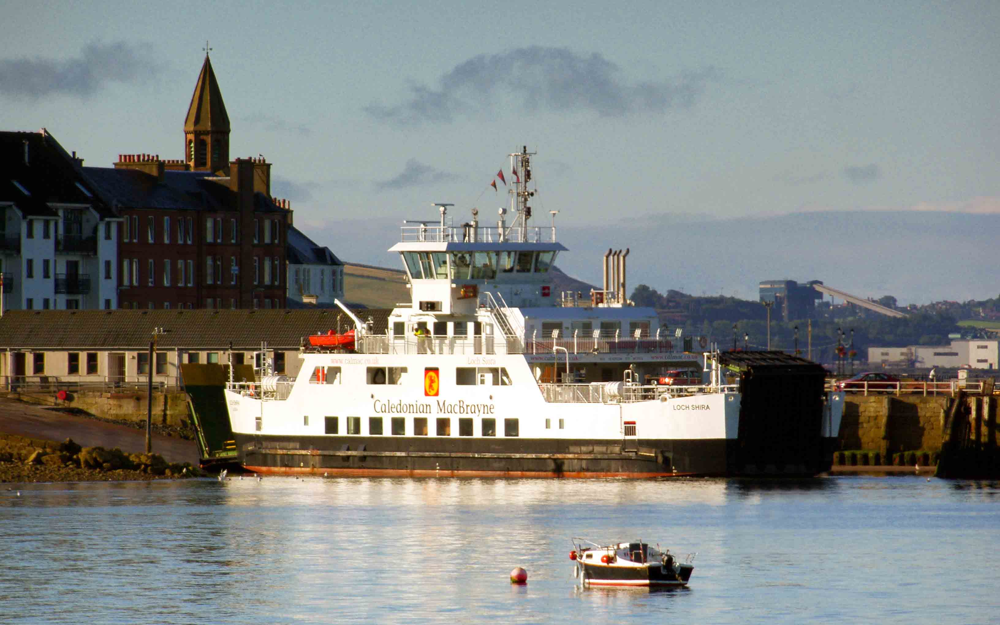 Loch Shira at Largs (Ships of CalMac)