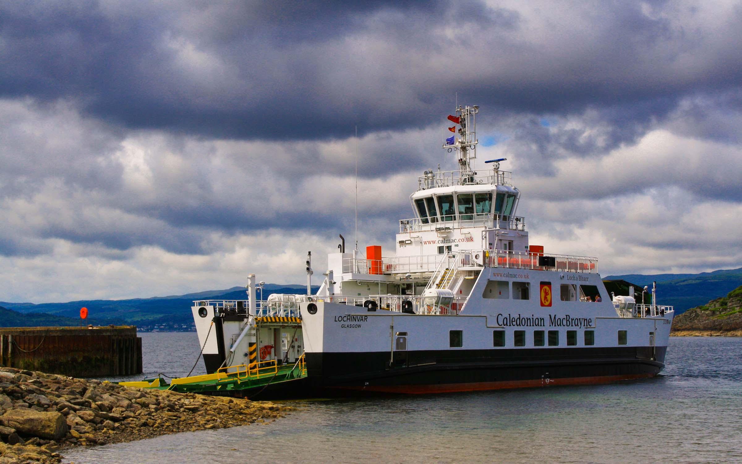 Lochinvar at Portavadie (Ships of CalMac)