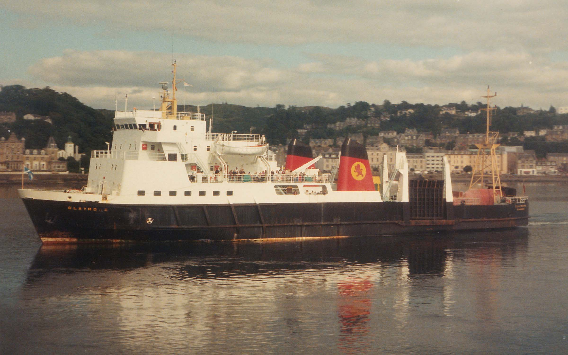 Claymore in Oban Bay (Ships of CalMac)