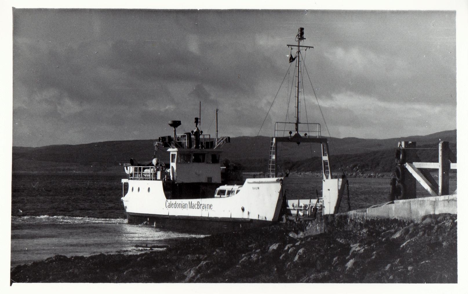 Rhum at Claonaig (Jim Aikman Smith)