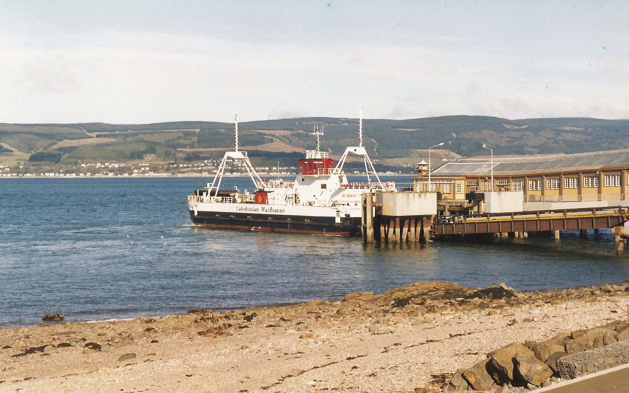 Loch Dunvegan at Wemyss Bay (Iain McPherson)