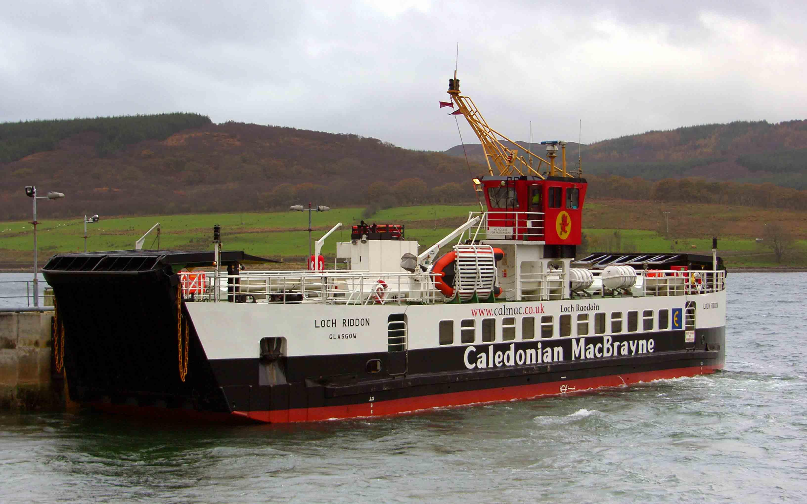 Loch Riddon at Colintraive (Ships of CalMac)