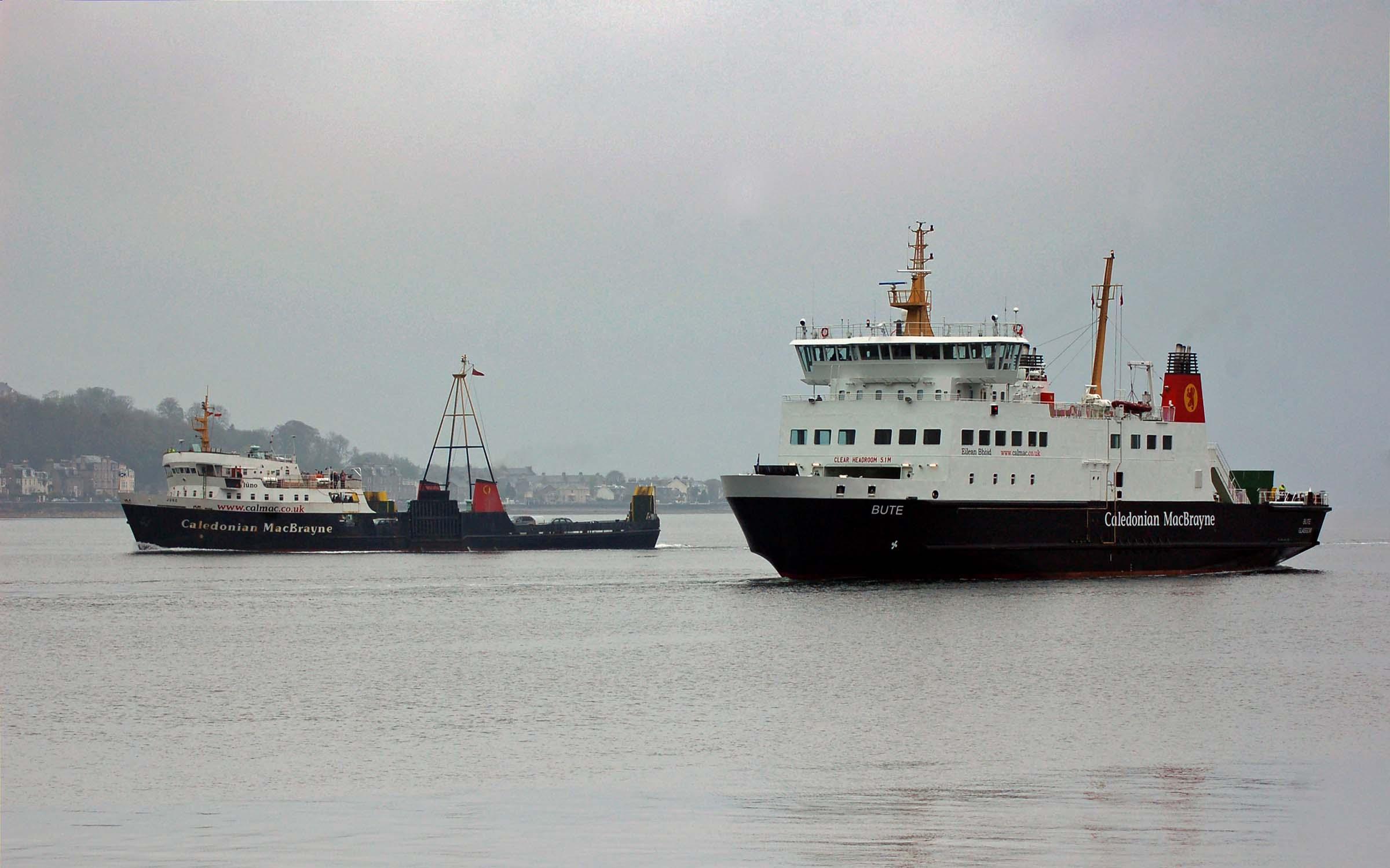 Juno and Bute at Rothesay (Ships of CalMac)