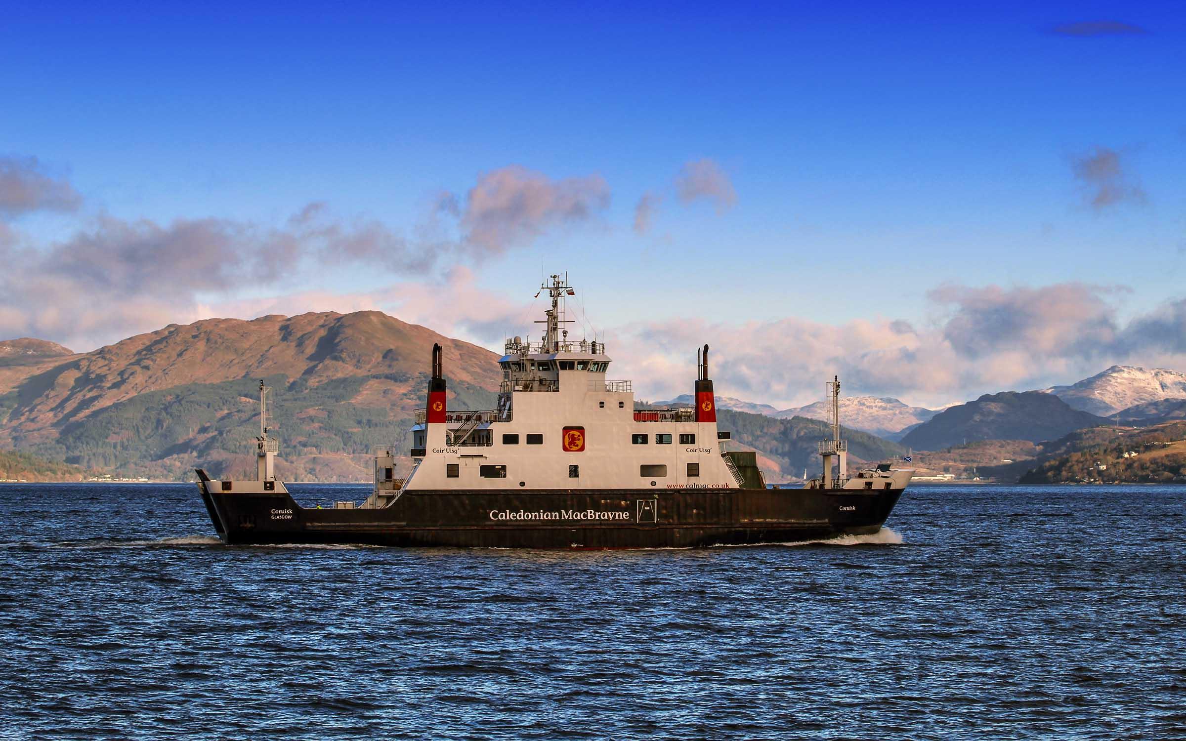Coruisk crossing to Gourock (Ships of CalMac)