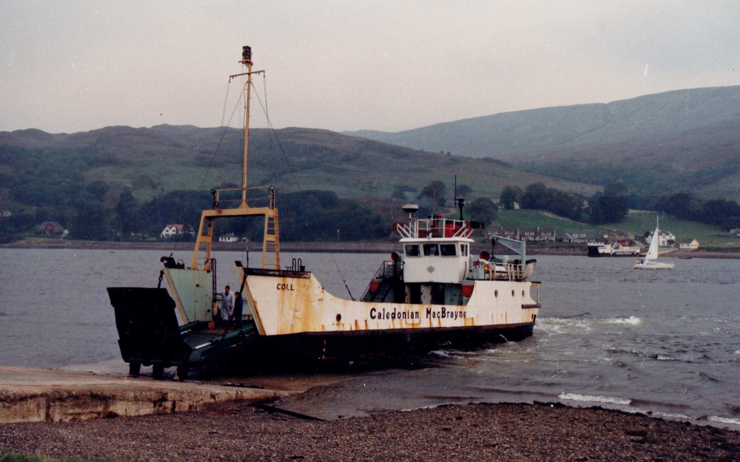 Coll at Rhubodach and Loch Riddon at Colintraive (Jim Aikman Smith)
