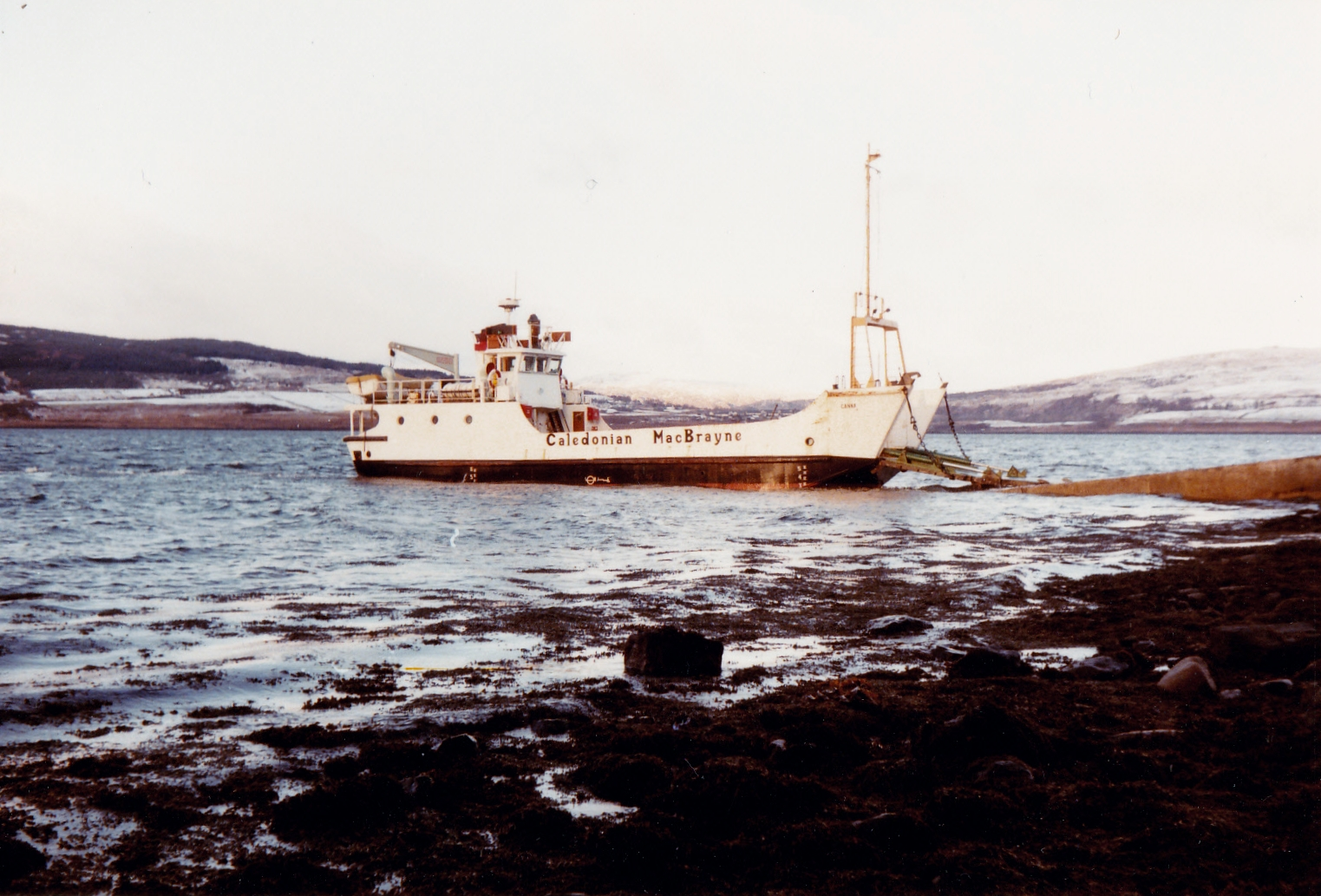 Canna sitting at Fishnish (Jim Aikman Smith)