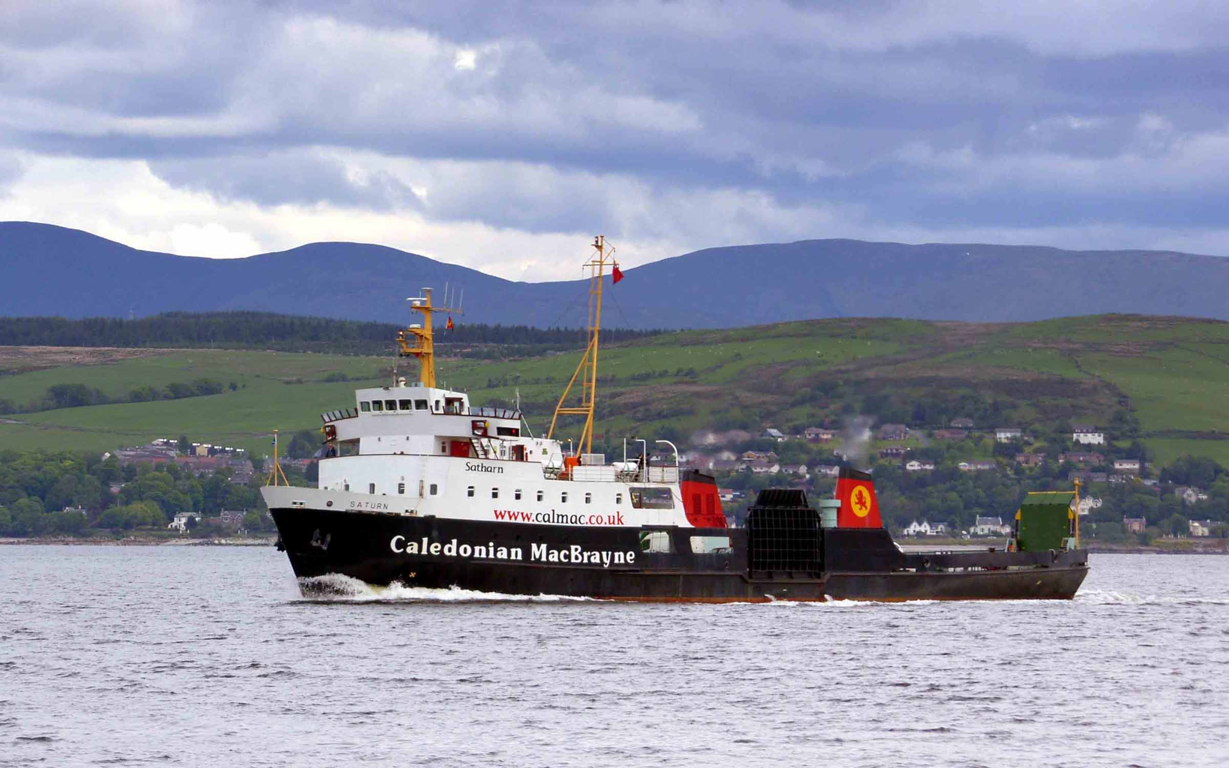 Saturn crossing to Dunoon (Ships of CalMac)