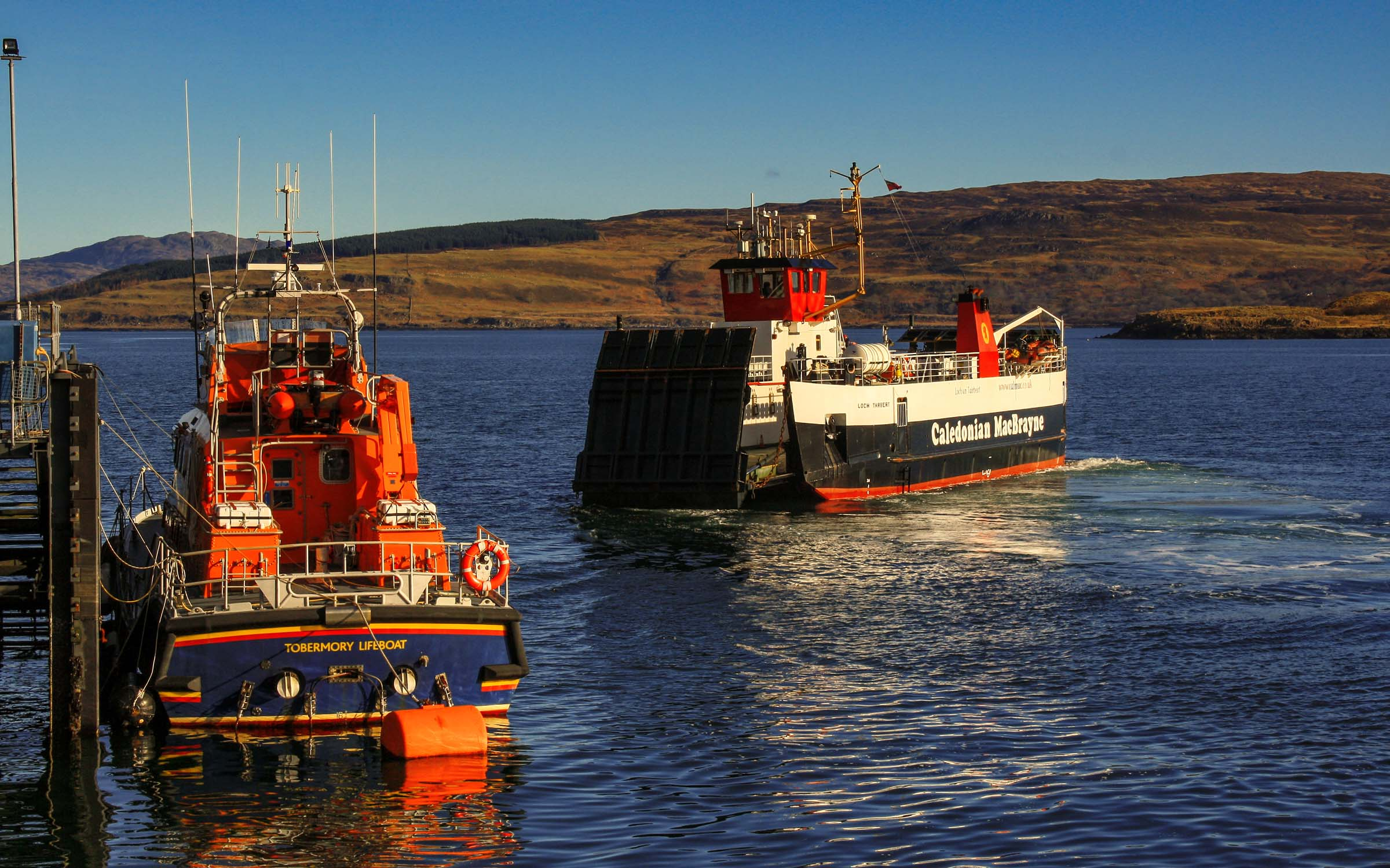 Loch Tarbert at Tobermory (Ships of CalMac)