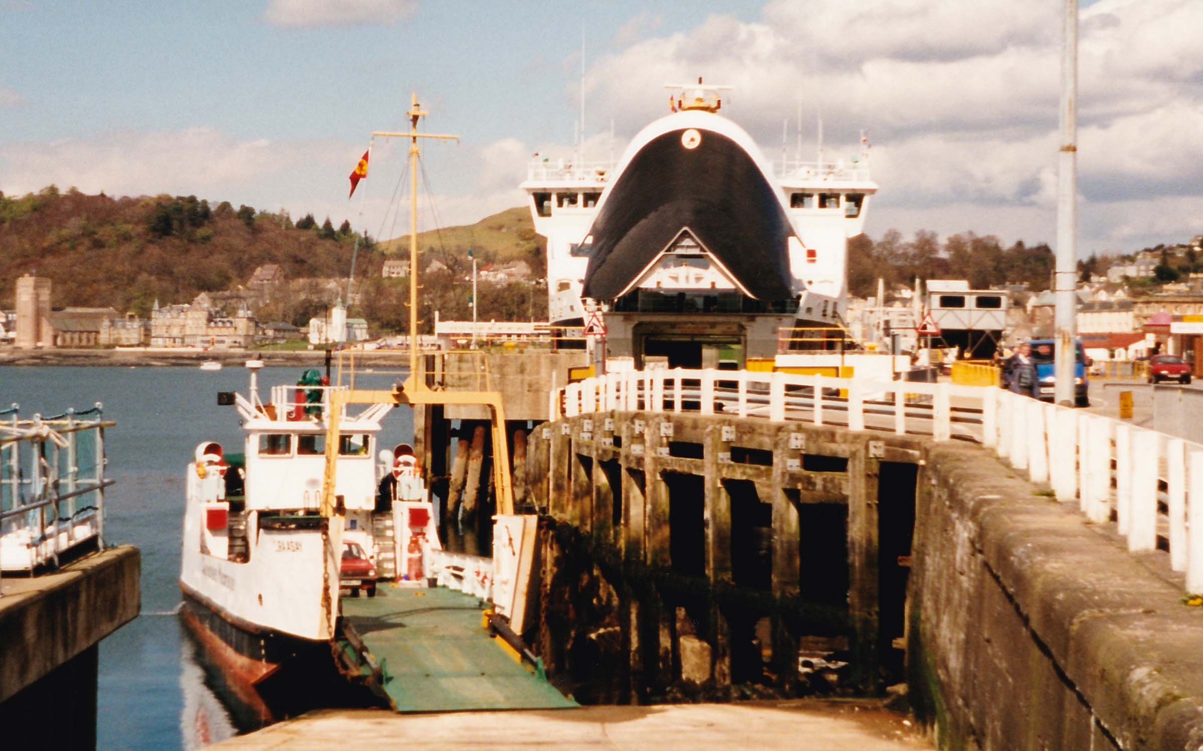 Raasay and Clansman at Oban (Ships of CalMac)