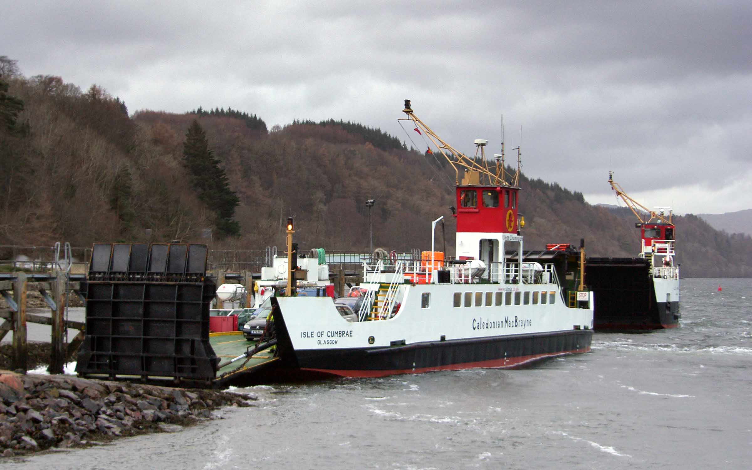 Isle of Cumbrae and Loch Linnhe at Lochaline (Ships of CalMac)