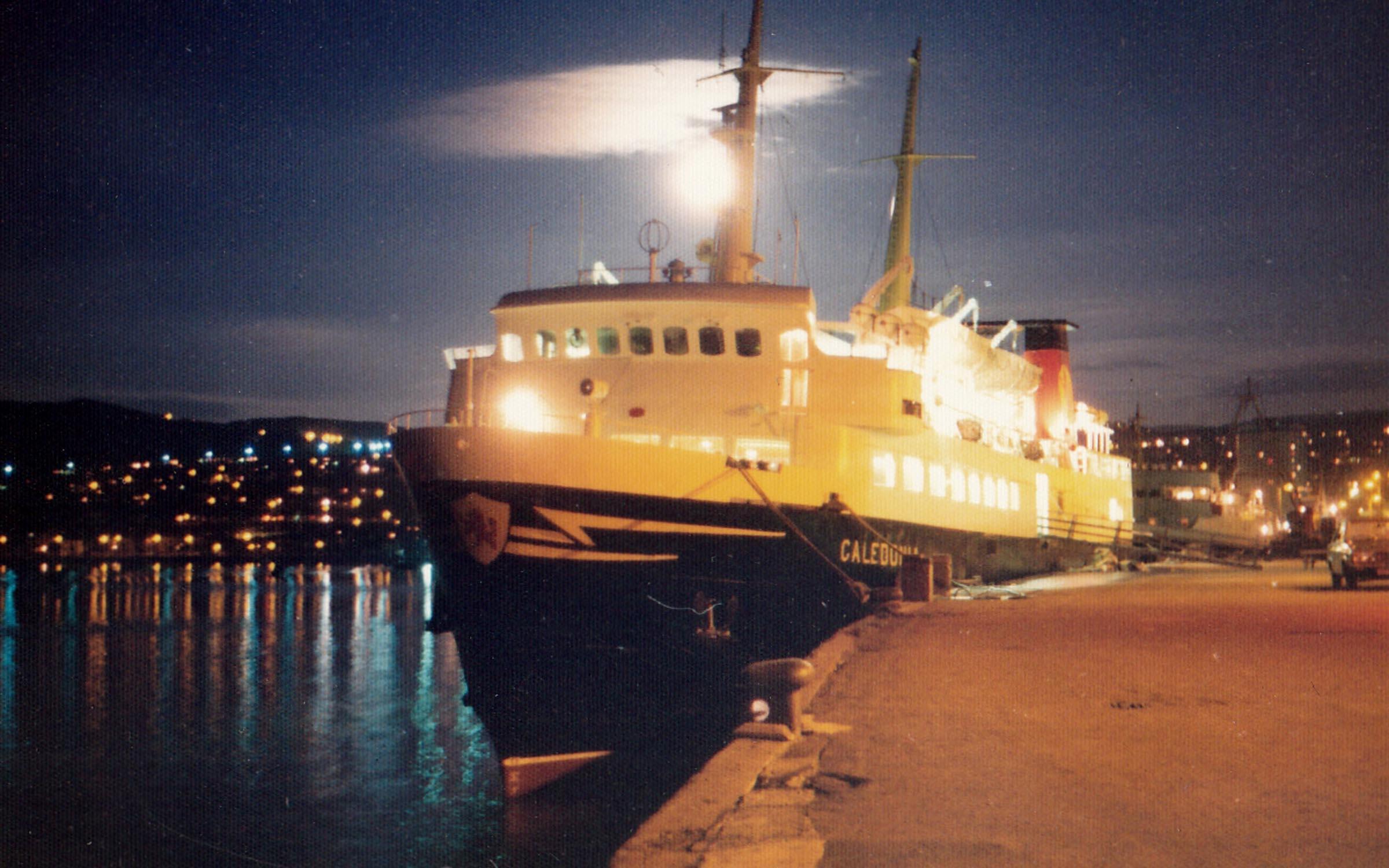 Caledonia at Gourock (Jim Aikman Smith)