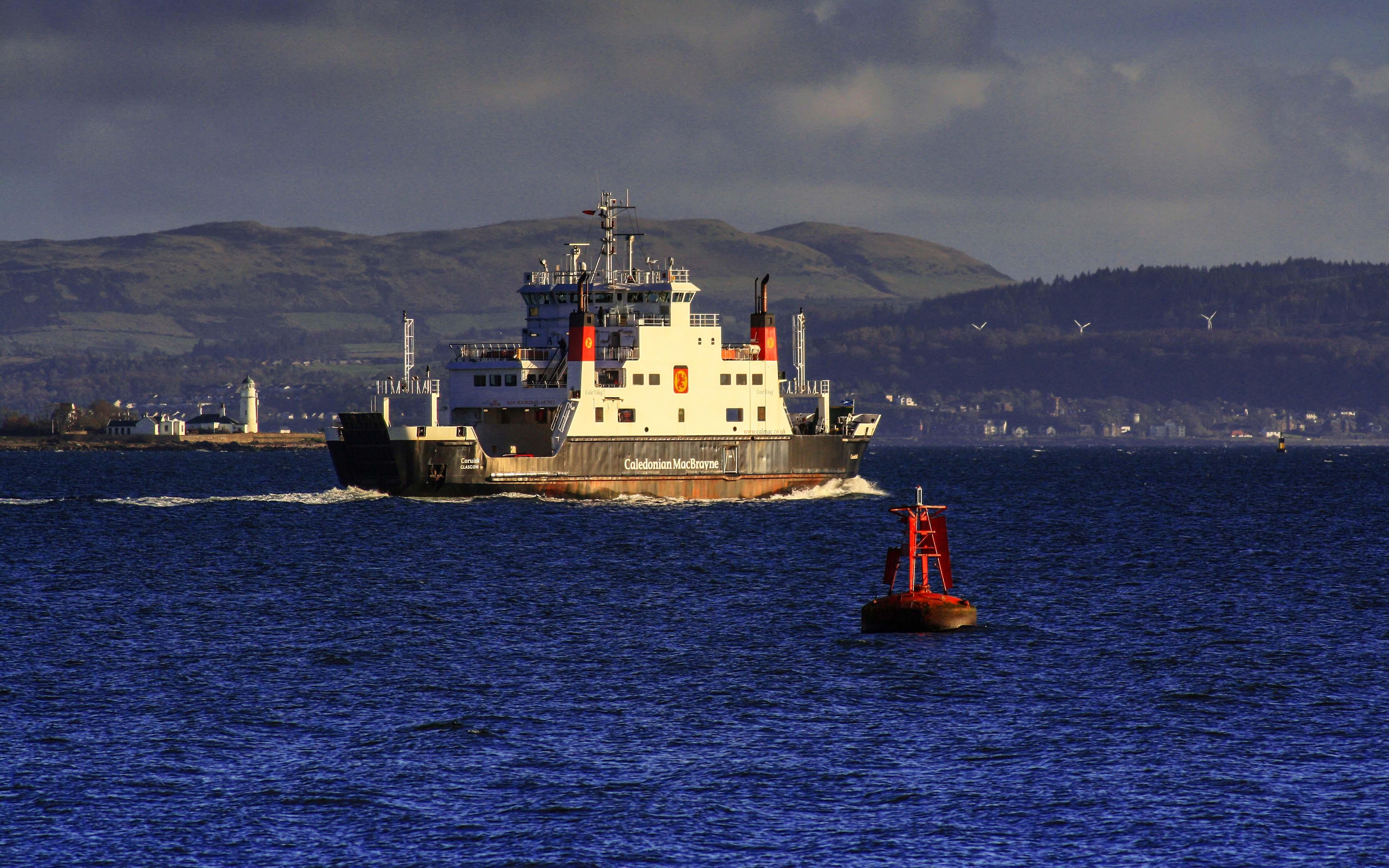 Coruisk on winter relief duty (Ships of CalMac)
