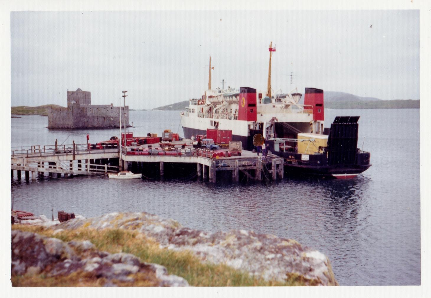 Iona at Castlebay (Jim Aikman Smith)