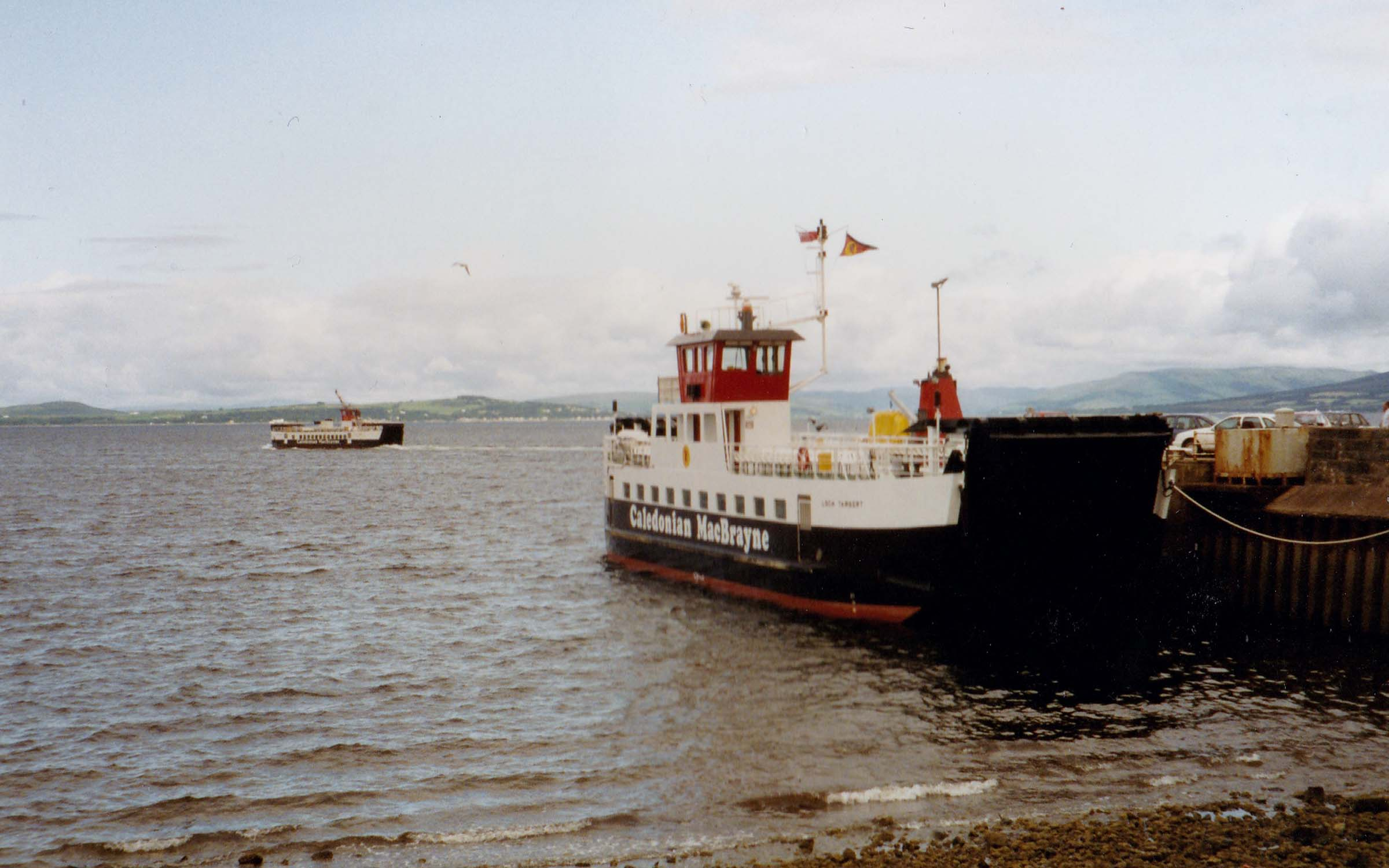 Loch Striven on a run to Cumbrae with Loch Tarbert at Largs (Jim Aikman Smith)
