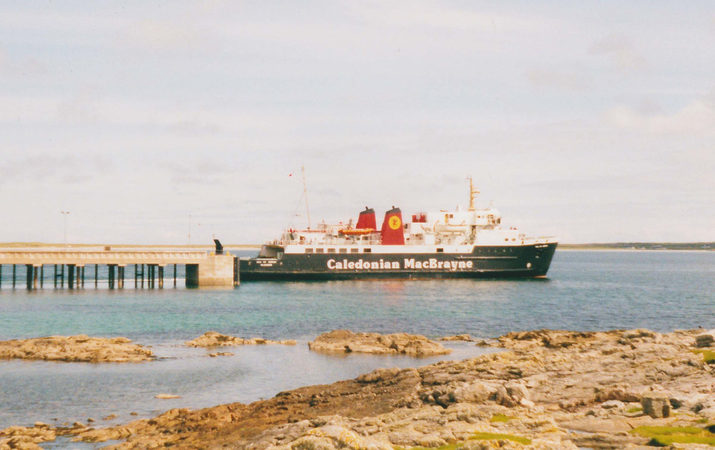 Isle of Arran at Tiree (Ships of CalMac)