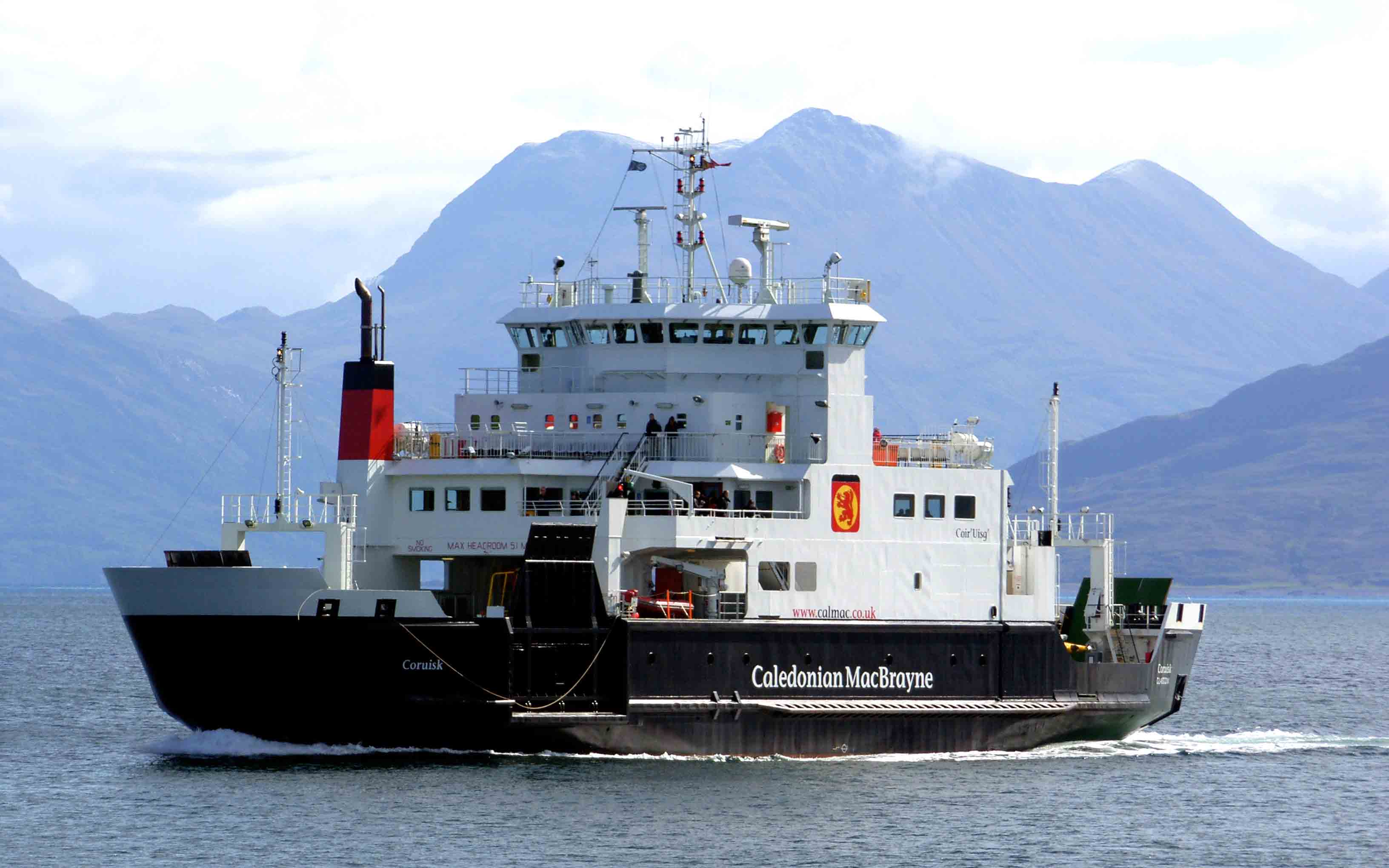 Coruisk in the Sound of Sleat (Ships of CalMac)