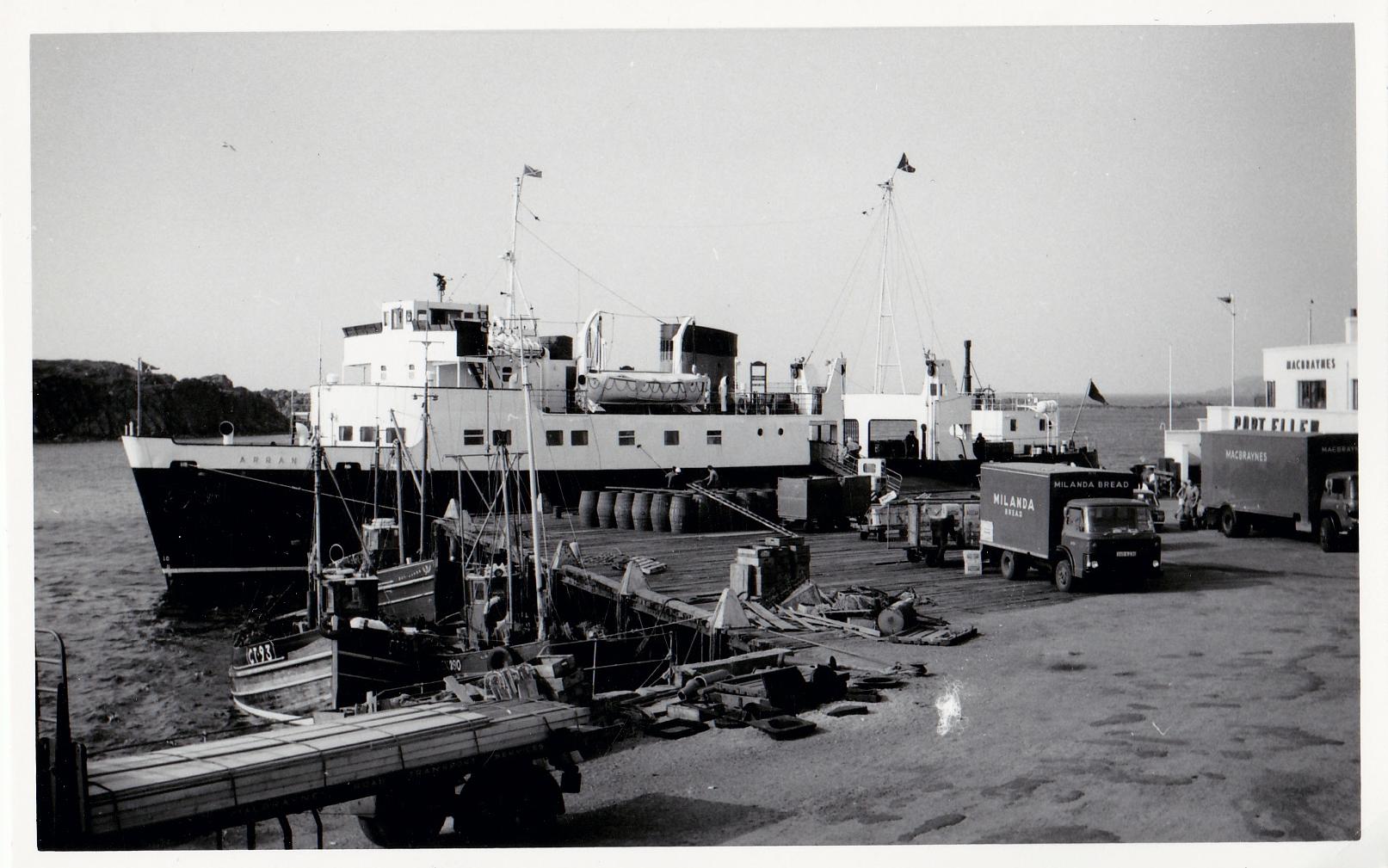Arran at Port Ellen (Jim Aikman Smith)