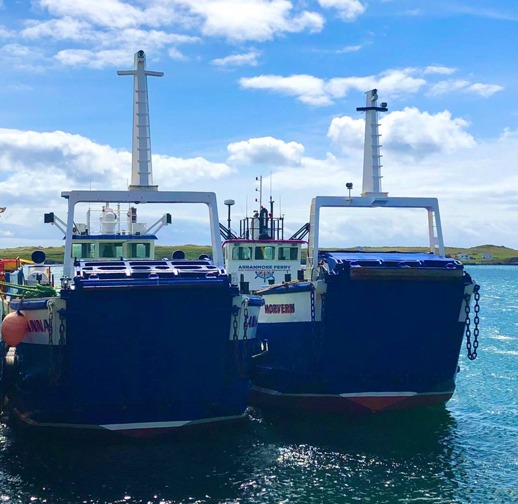 Canna and Morvern reunited at Burtonport, Co. Donegal (Arranmore Ferry)