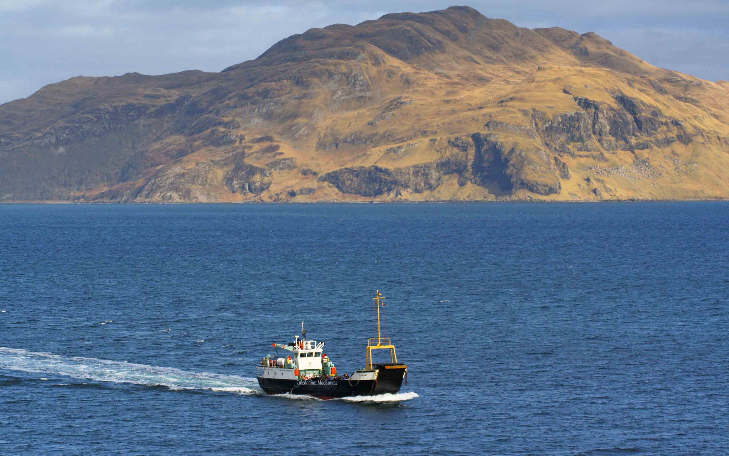 Raasay in the Sound of Mull (Ships of CalMac)