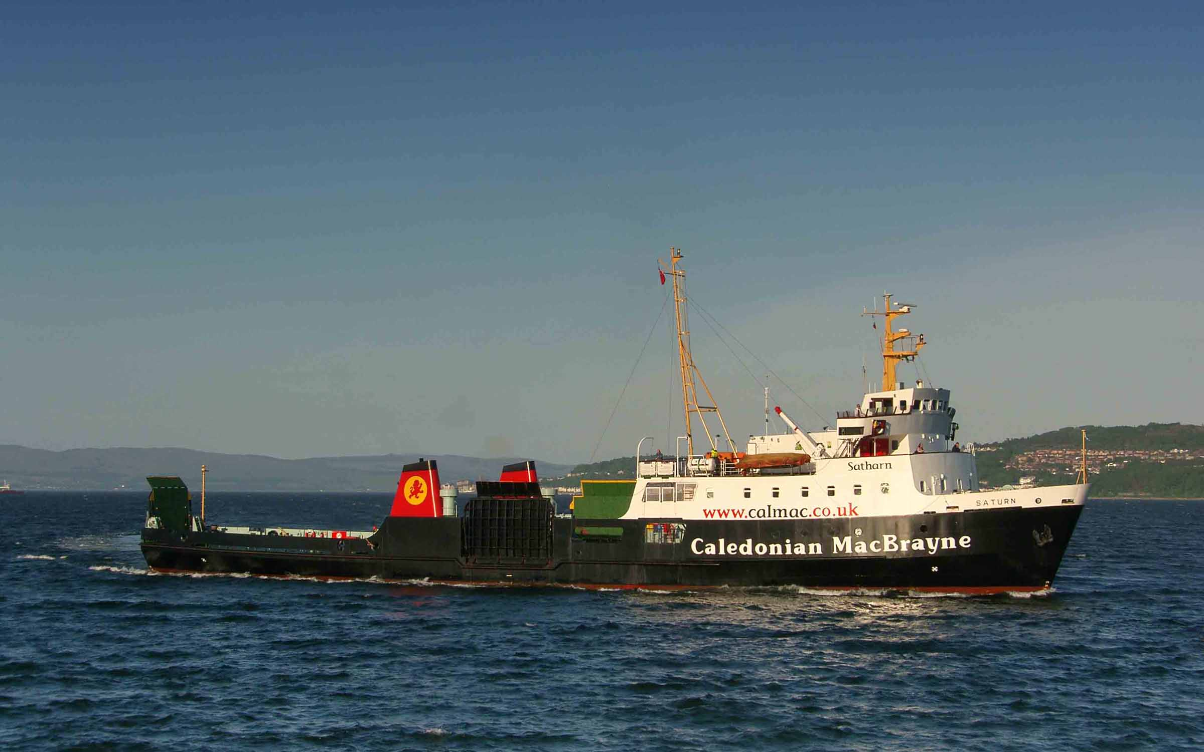 Saturn arriving at Dunoon (Ships of CalMac)