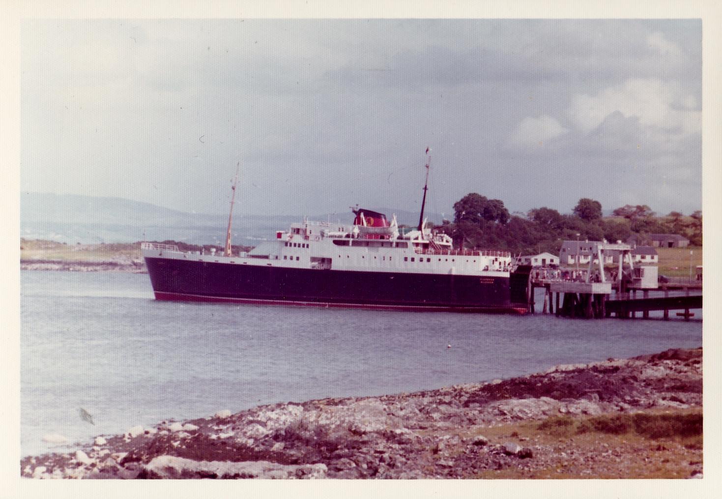 Clansman stern-loading at Craignure (Jim Aikman Smith)