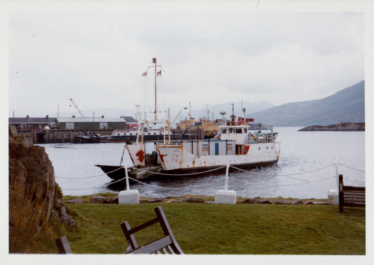 Coll at Kyle of Lochalsh (Jim Aikman Smith)