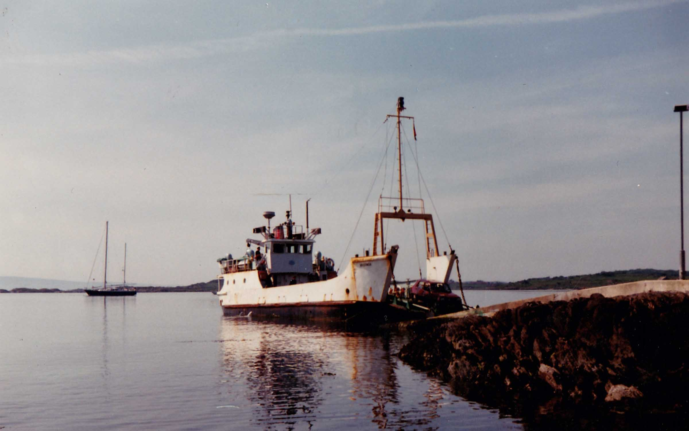 Bruernish at Gigha slipway (Jim Aikman Smith)