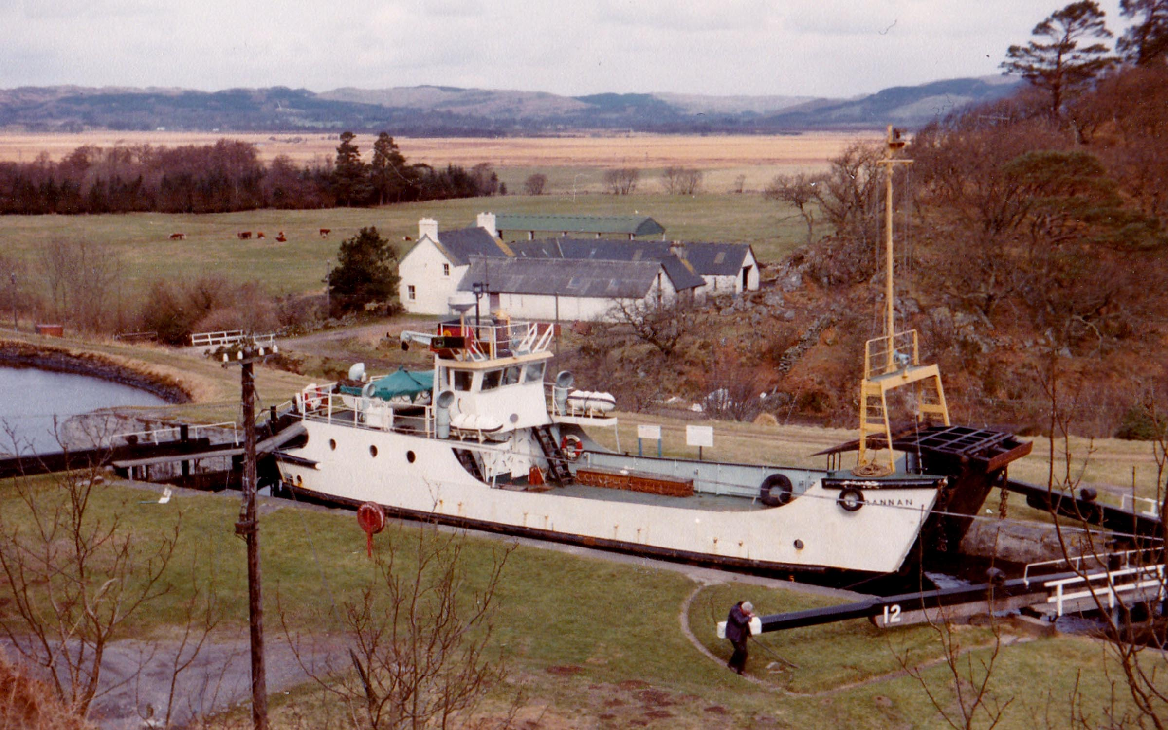 Kilbrannan in the Crinan Canal (Jim Aikman Smith)