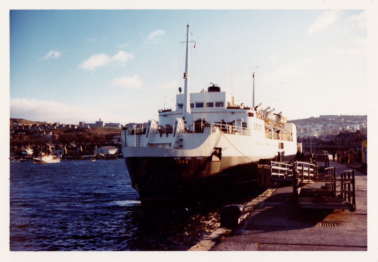 Iona at Gourock (Jim Aikman Smith)