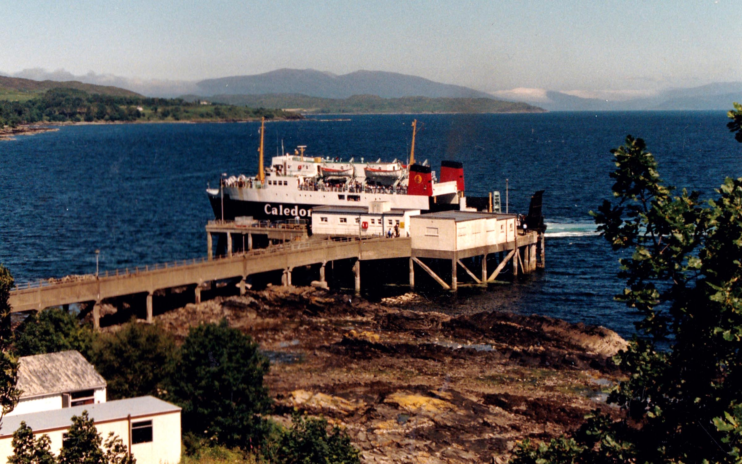 Iona leaving Armadale (Jim AIkman Smith)