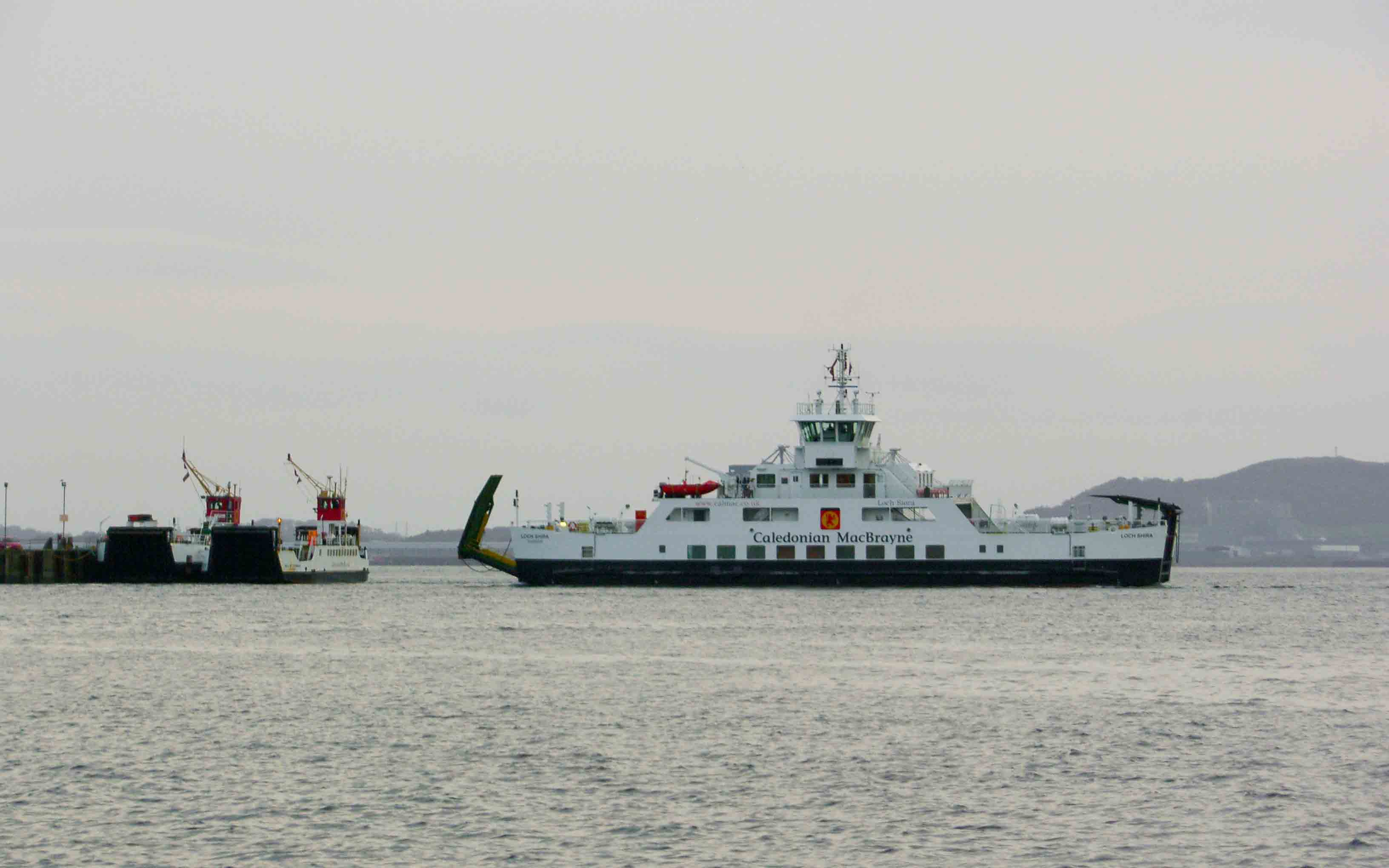 3 generations of Cumbrae ferries at Largs (Ships of CalMac)