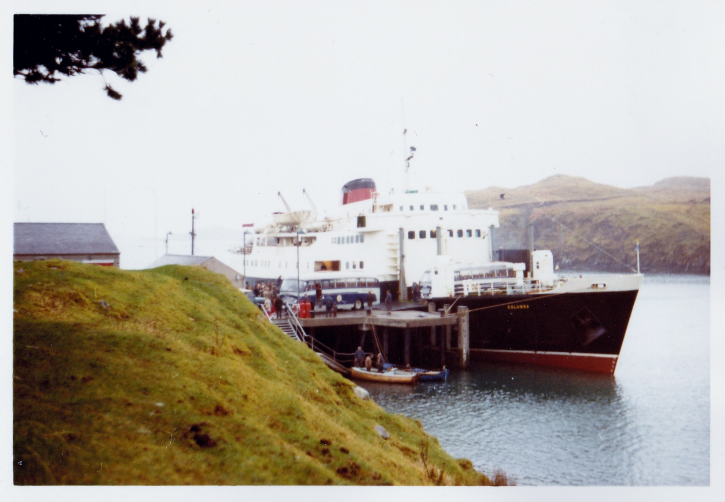 Columba at Tarbert (Jim Aikman Smith)