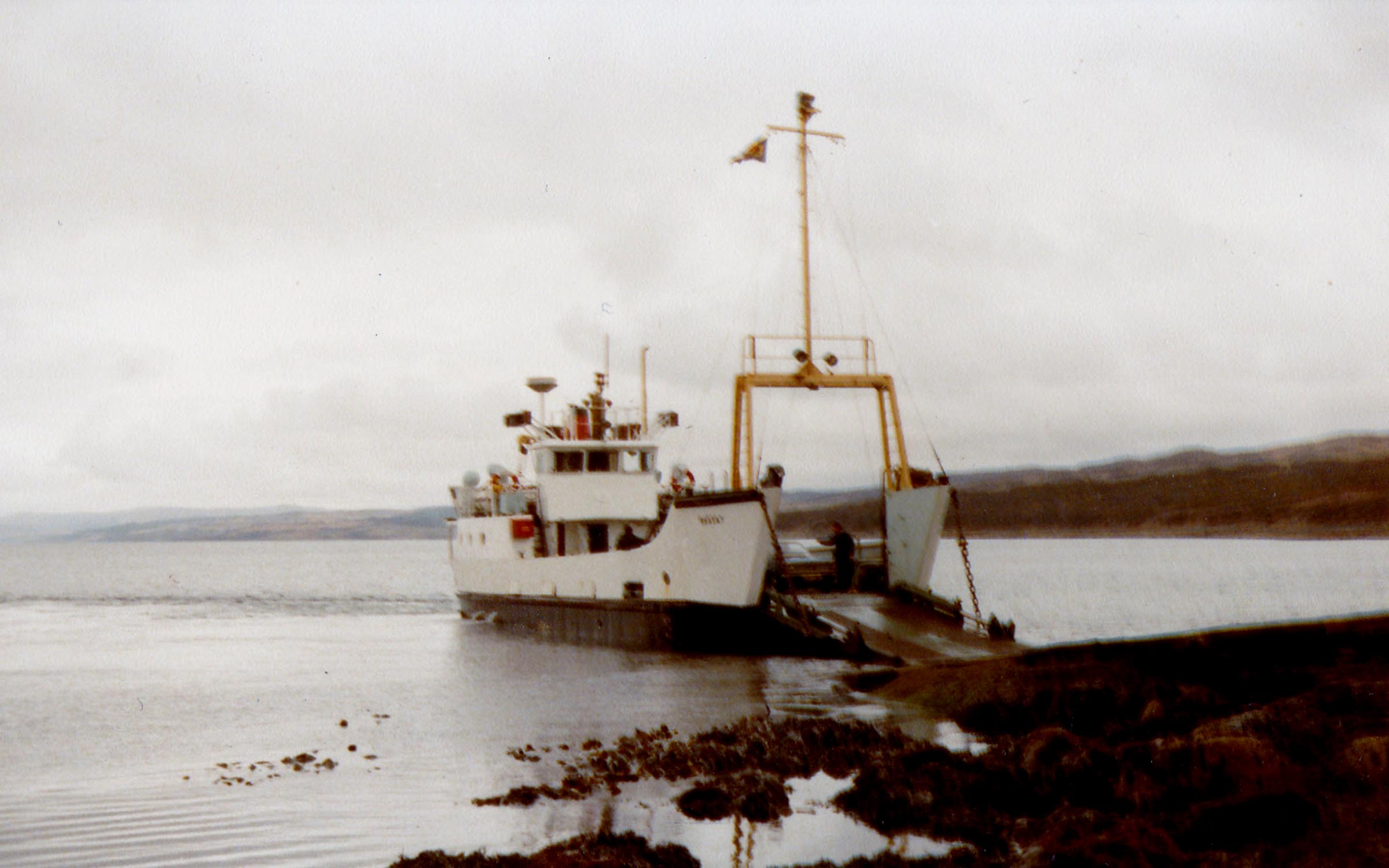 Raasay at Claonaig (Jim Aikman Smith)