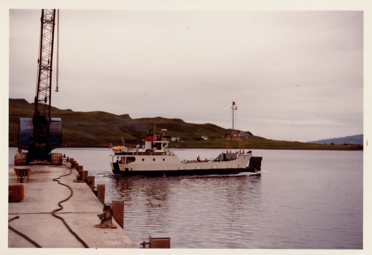 Canna leaving Sconser (Jim Aikman Smith)