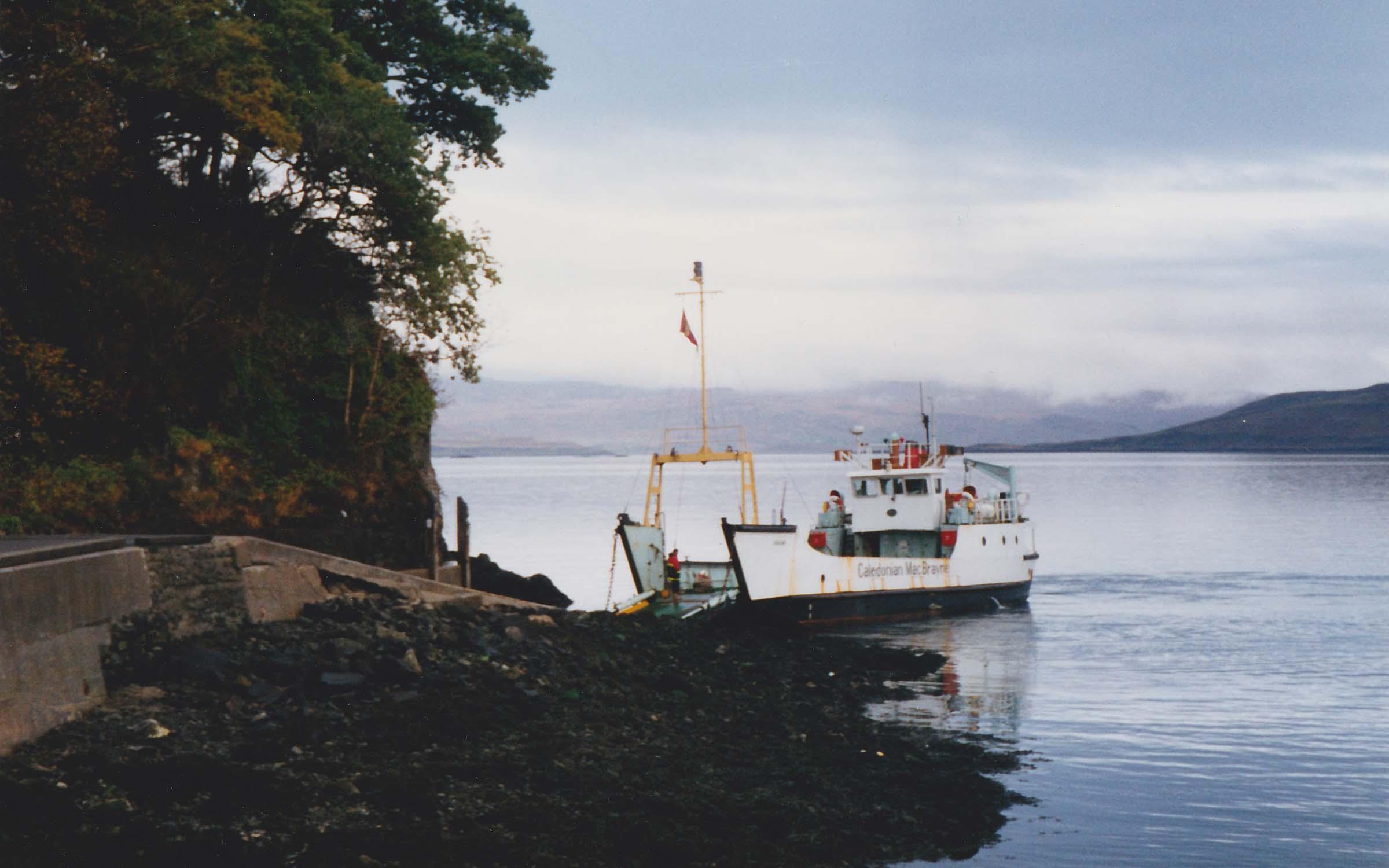 Rhum at Tobermory (Ships of CalMac)