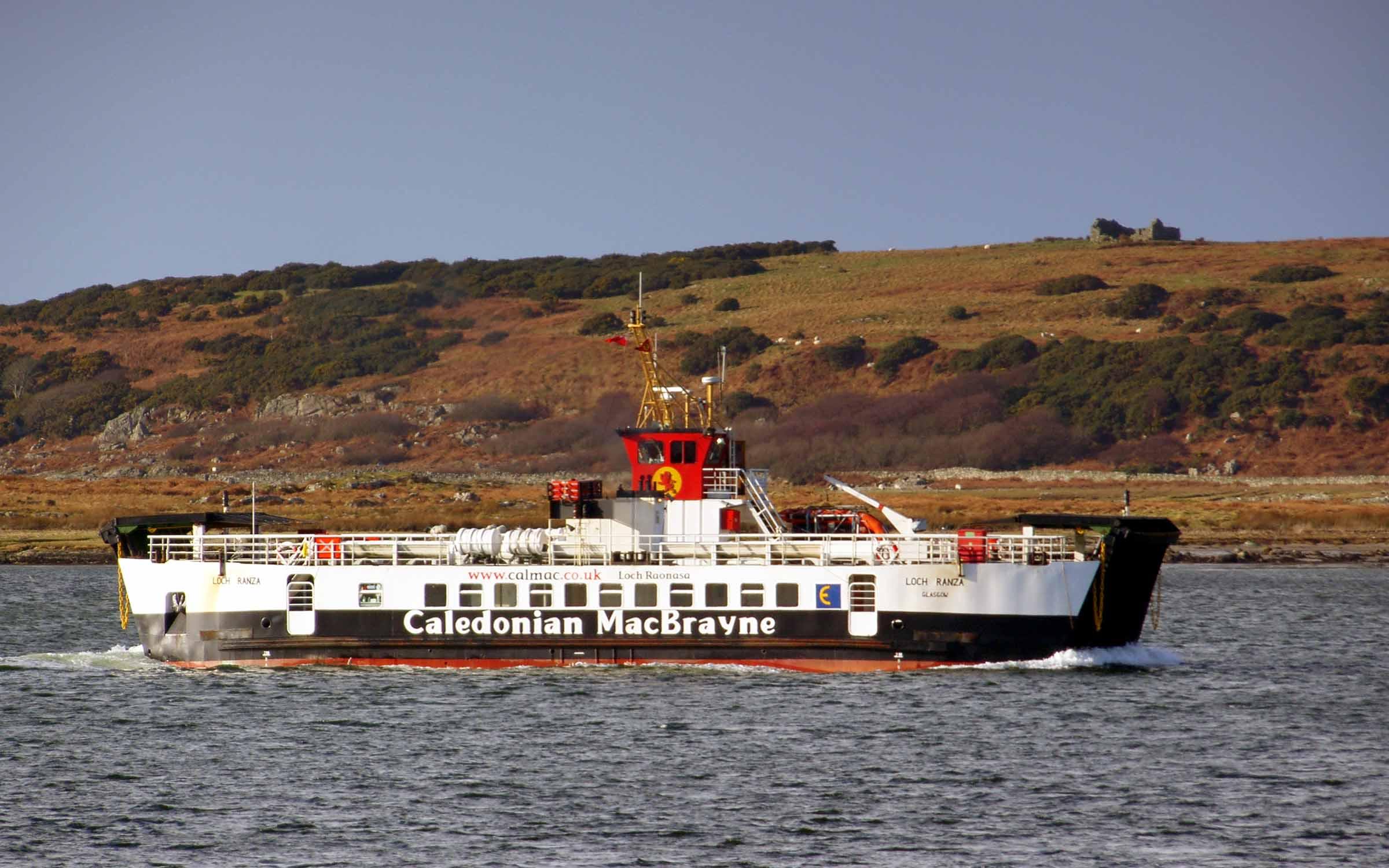 Loch Ranza in West Loch Tarbert (Ships of CalMac)