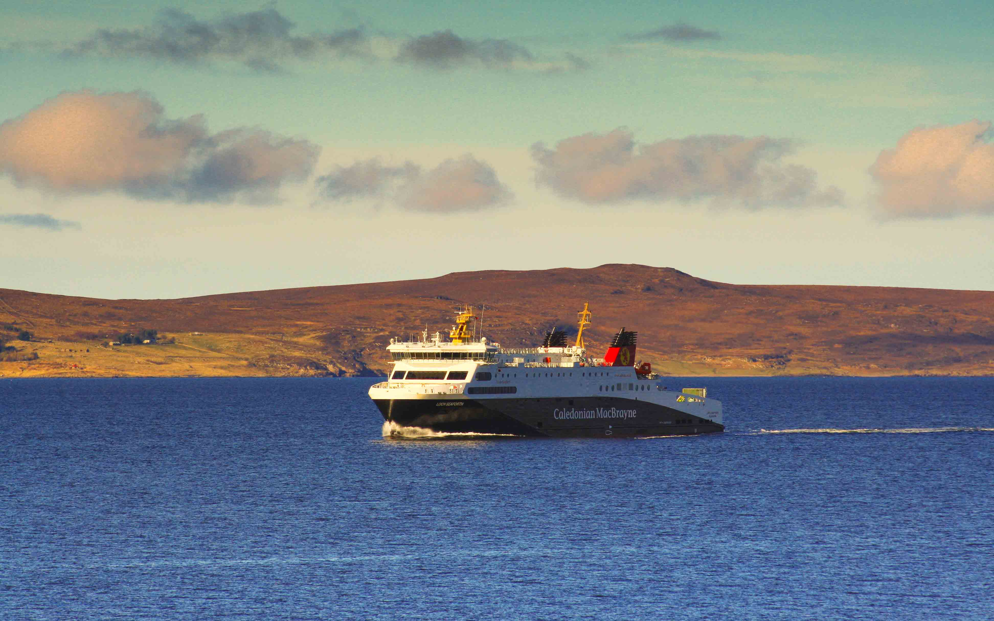 Loch Seaforth crossing to Ullapool (Photo: SoC Crew)