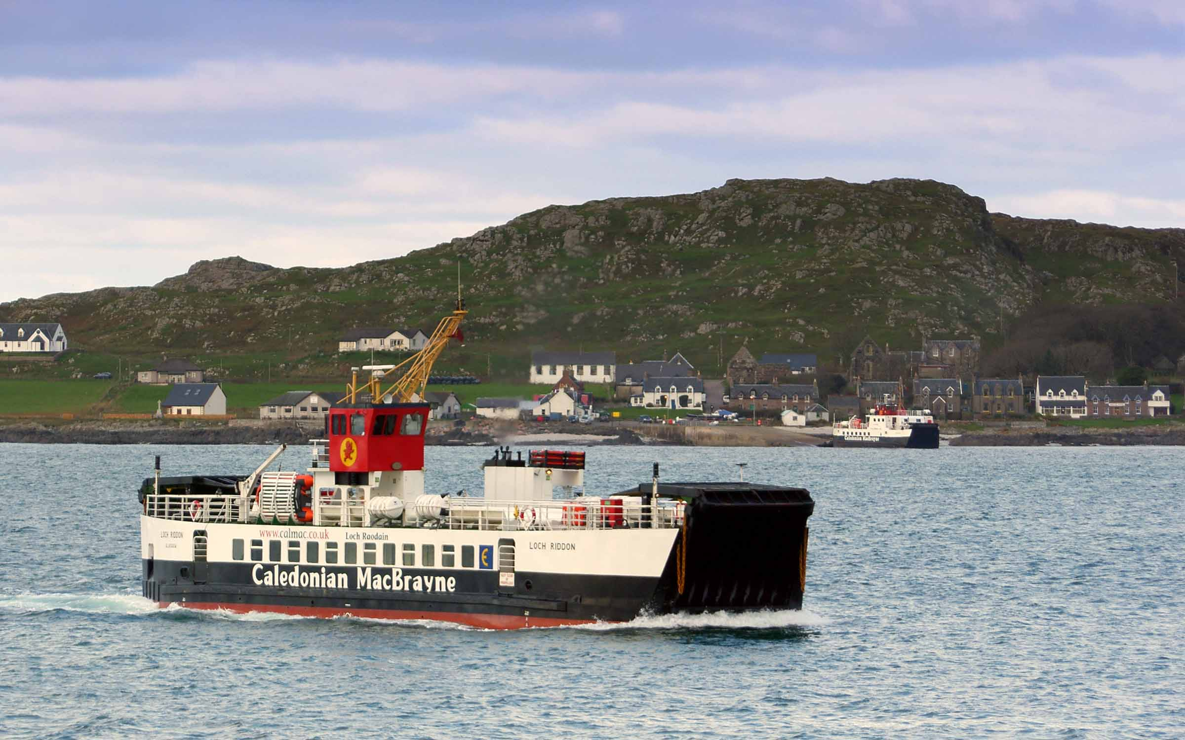 Loch Riddon in the Sound of Iona (Ships of CalMac)