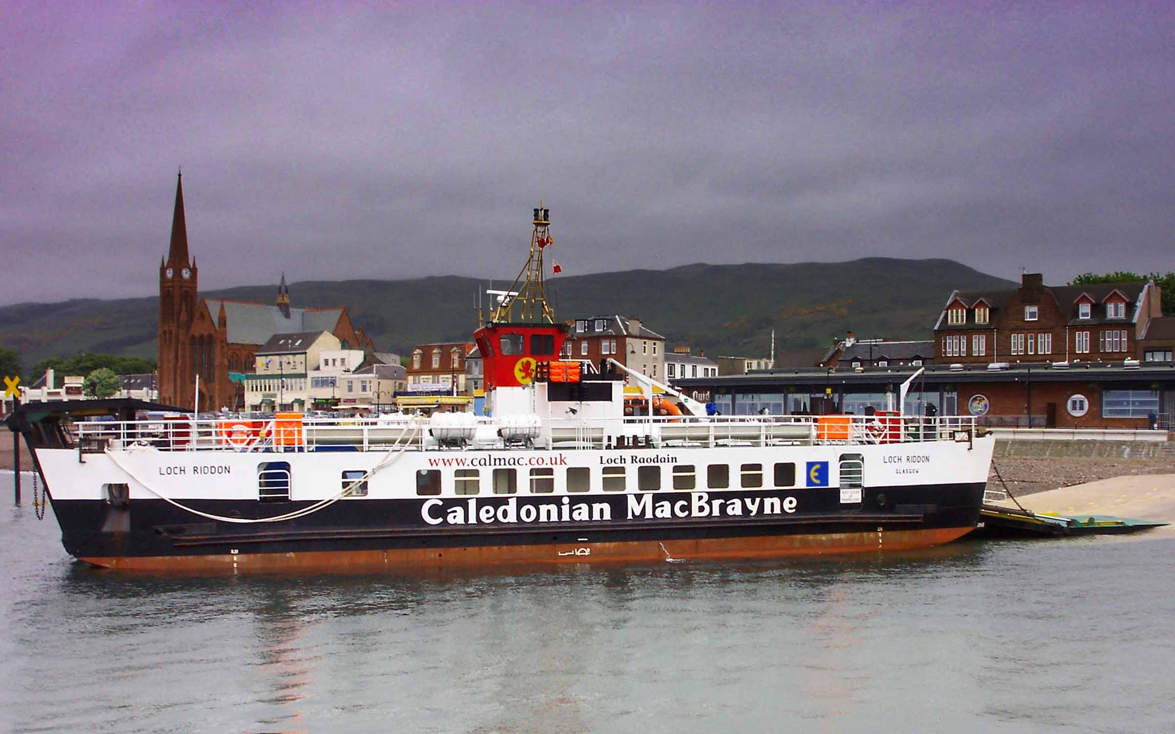 Loch Riddon at Largs (Ships of CalMac)