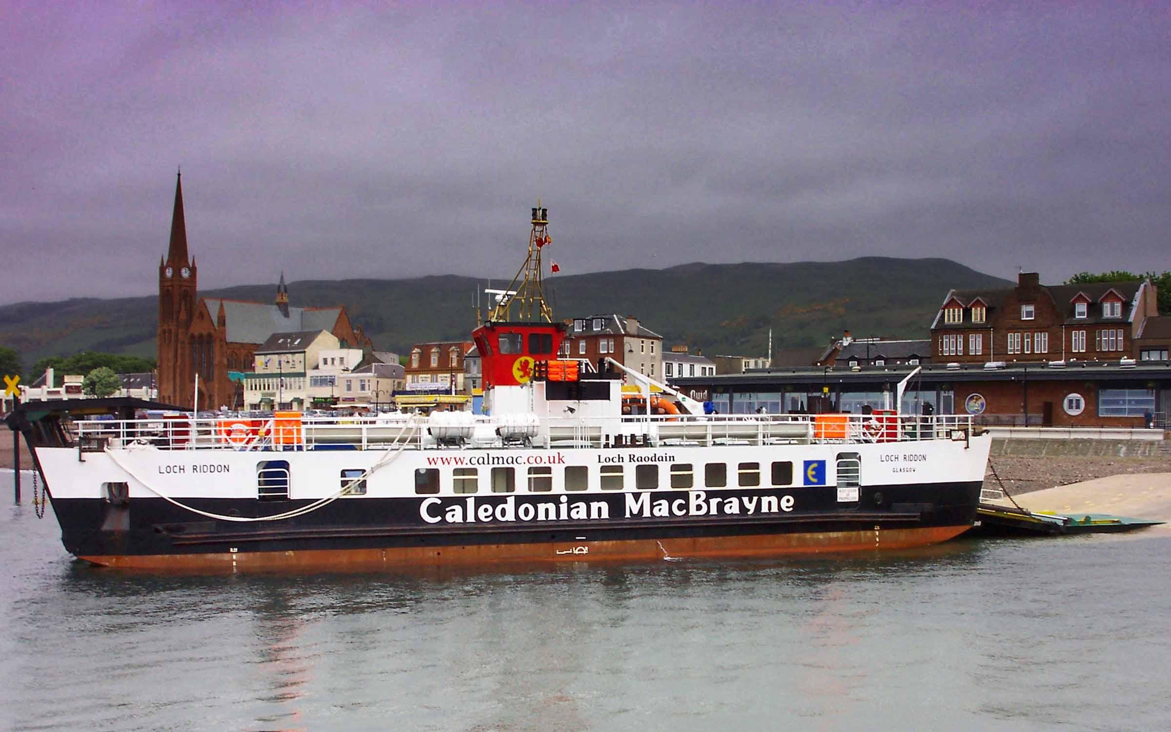 Loch Riddon at Largs (Ships of CalMac)