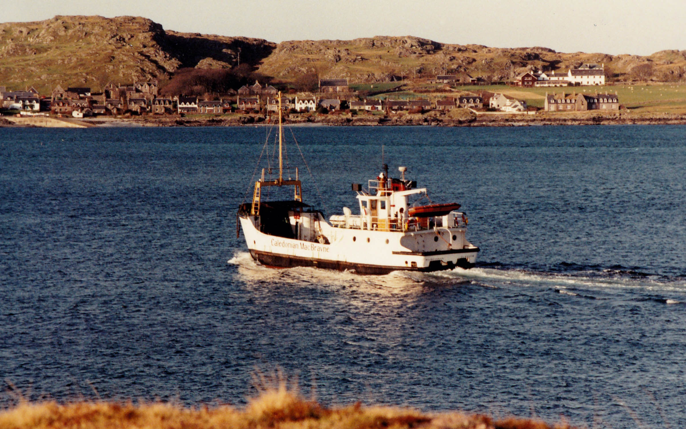 Kilbrannan crossing from Fionnphort to Iona (Jim Aikman Smith)