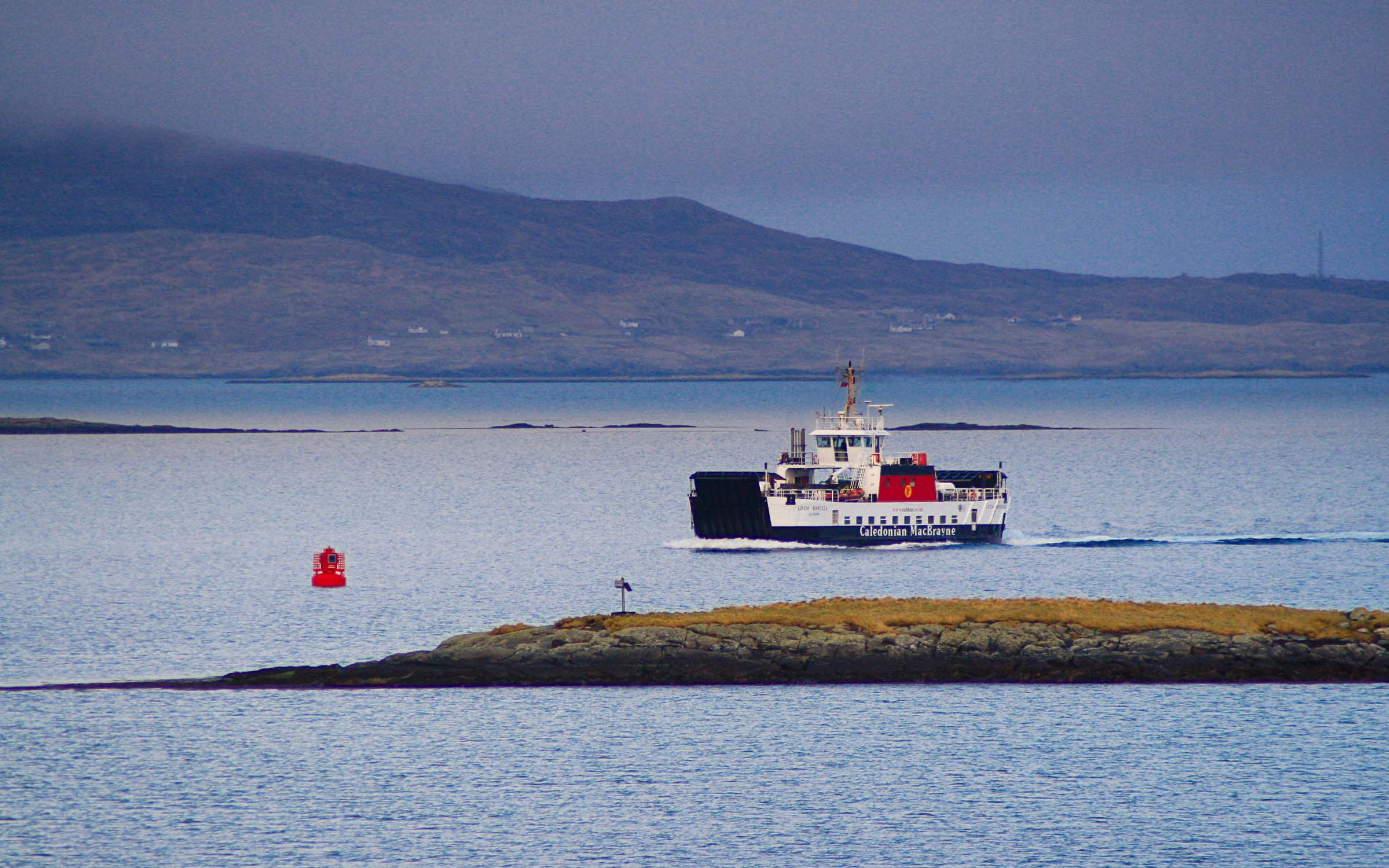 Loch Bhrusda in the Sound of Harris (Ships of CalMac)