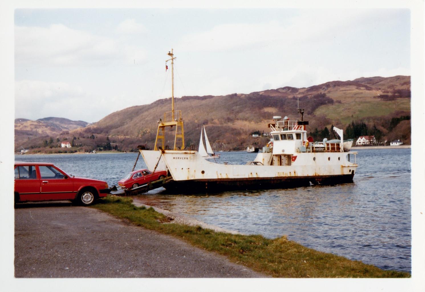 Morvern loading at Rhubodach (Jim Aikman Smith)