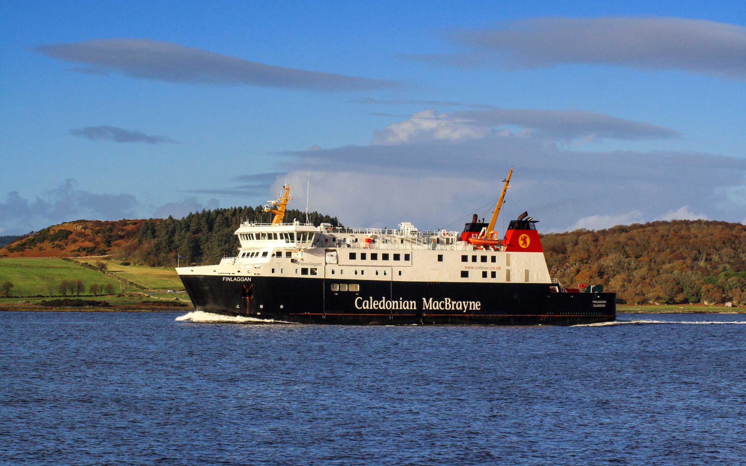 Finlaggan outbound (Ships of CalMac)