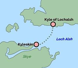 Kyle of Lochalsh - Kyleakin