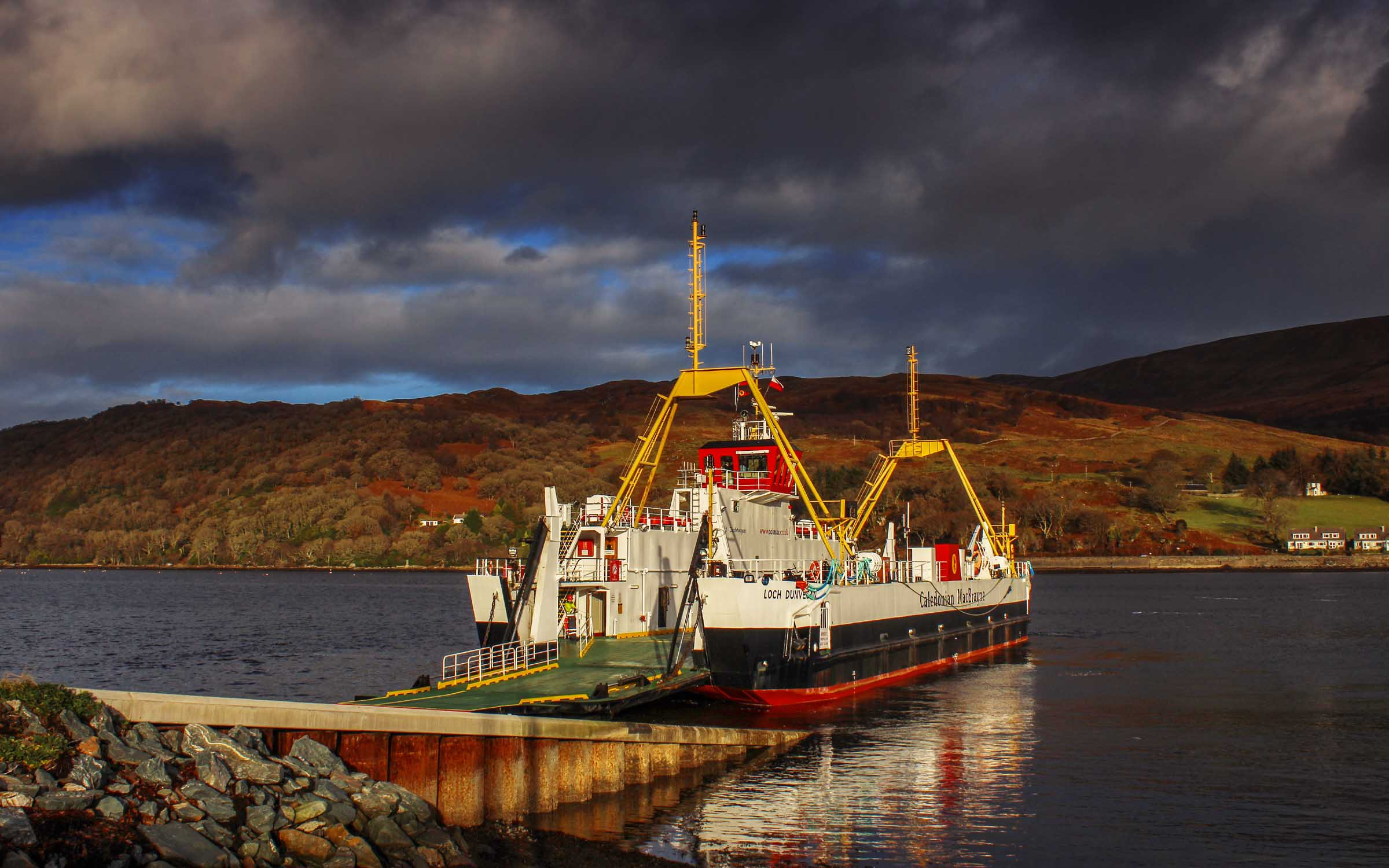 Loch Dunvegan at Rhubodach (Ships of CalMac)