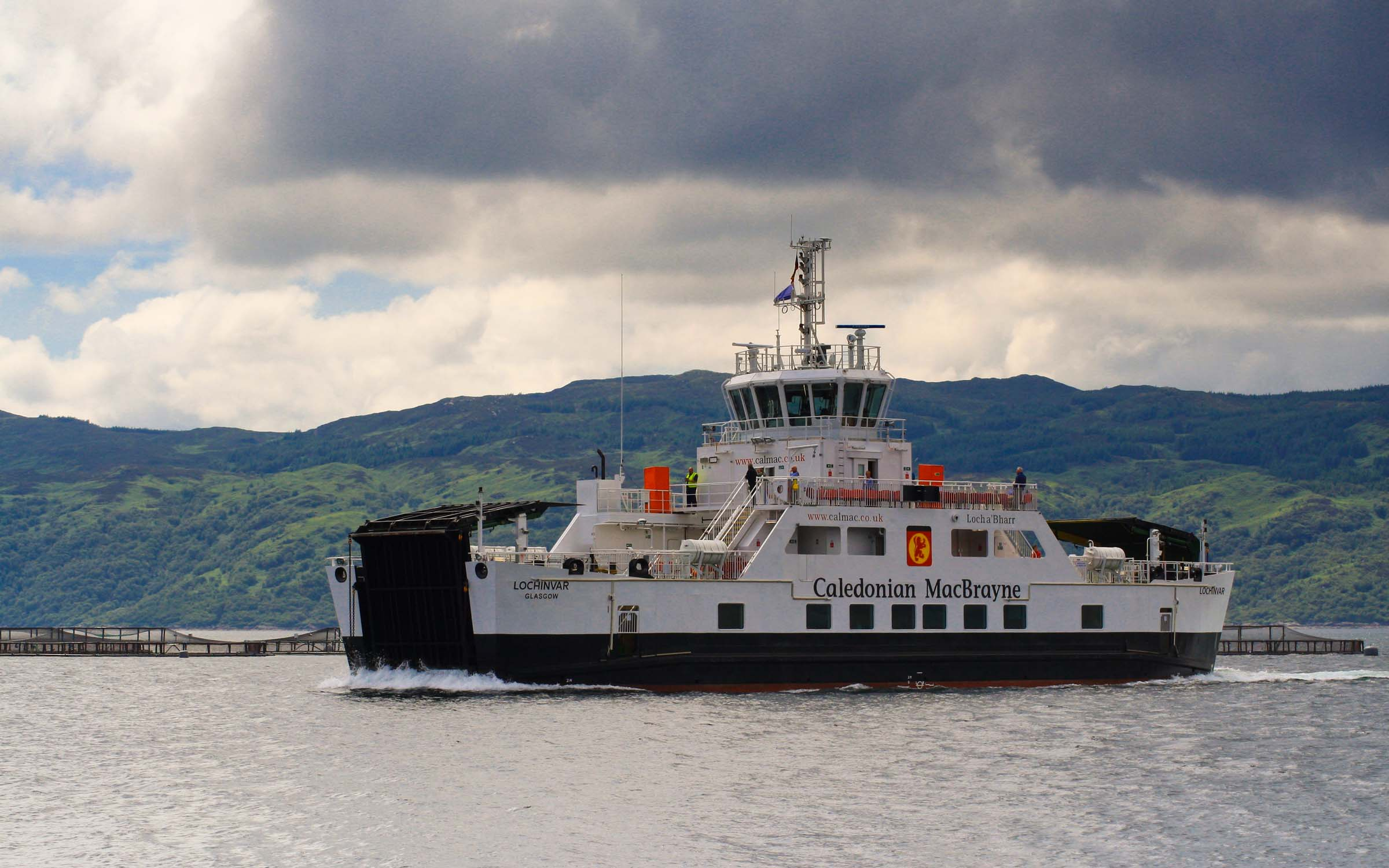 Lochinvar crossing to Portavadie (Ships of CalMac)