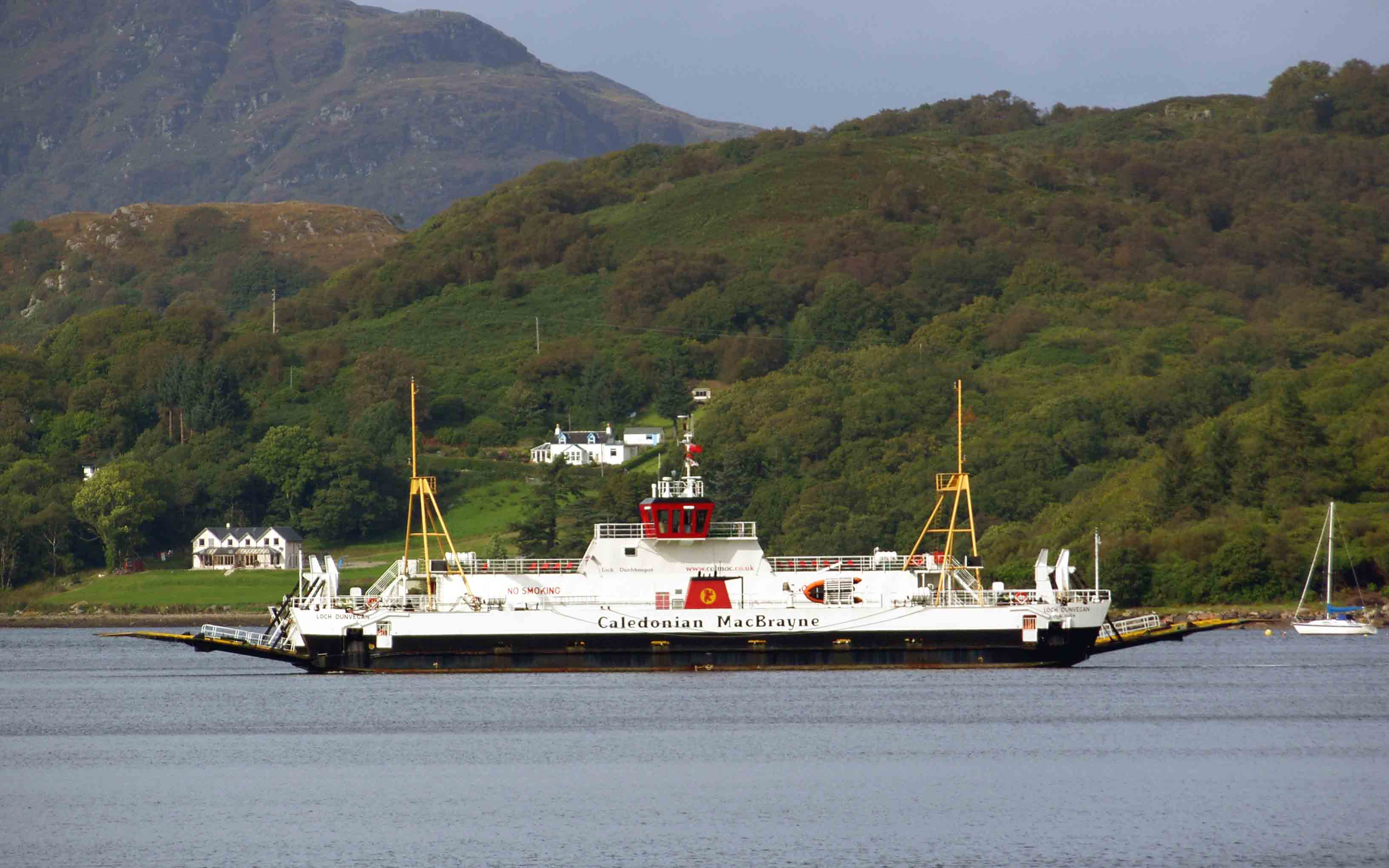 Loch Dunvegan crossing the Kyles of Bute (Ships of CalMac)
