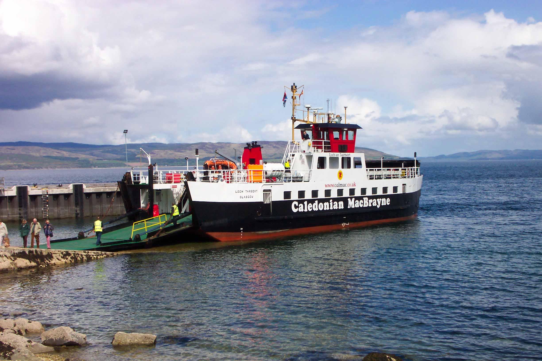 Loch Tarbert at Lochranza (Ships of CalMac)